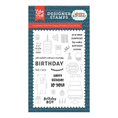 Echo Park Stamps 4 inch X6 inch Happy Birthday To You