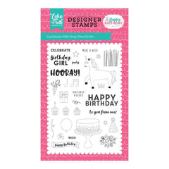 Echo Park Stamps 4 inch X6 inch Party Time