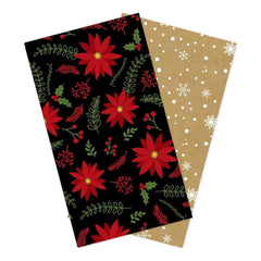 Echo Park Travelers Notebook Insert 4.5 inch X8.25 inch Celebrate Christmas Lined