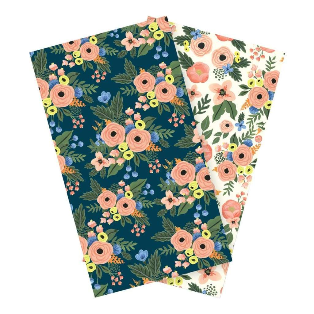 Echo Park Travelers Notebook Insert 4.5 inch X8.25 inch Fancy Flora Blank