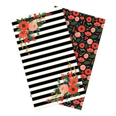 Echo Park Travelers Notebook Insert 4.5 inch X8.25 inch Full Bloom Daily Calendar