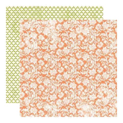Echo Park - Victoria Gardens - Blooming Blossoms 12X12 Inch Double-Sided Paper (Pack Of 10)