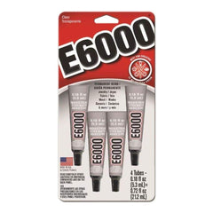 Eclectic - E-6000 Multi-Purpose Adhesive (4 X 0.53Ml Tubes)