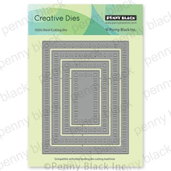 Penny Black Creative Dies - Dainty Dashes Stackers
