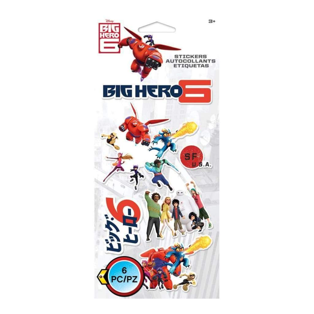 Ek Success - Disney Flat Stickers Big Hero 6