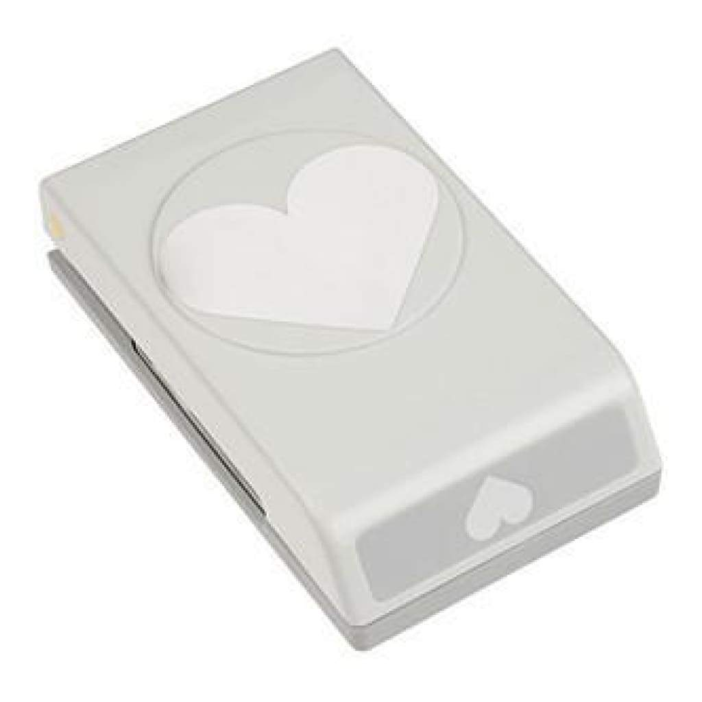 Ek Success Large Punch - Heart 2.5 Inch X2 Inch