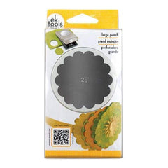 Ek Success - Large Punch Scallop Circle 2.25 Inch