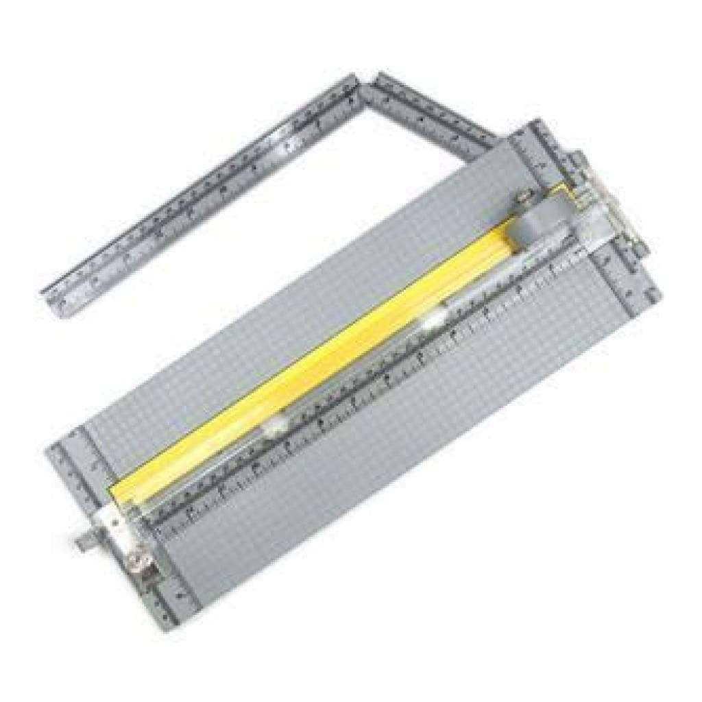 Ek Success-Rotary Paper Trimmer With 15 Inch Extendable Ruler  A Rotary Blade  A