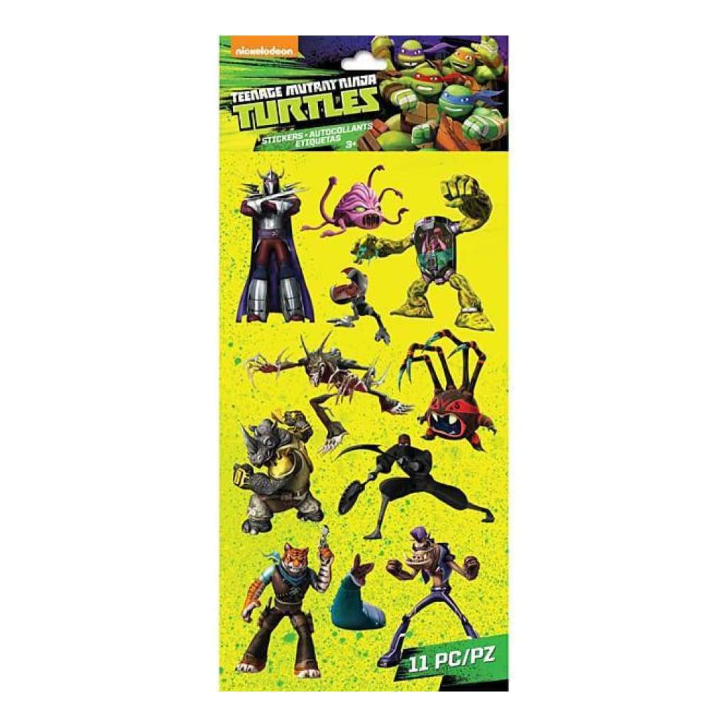 Ek Success - Teenage Mutant Ninja Turtles Stickers Villains