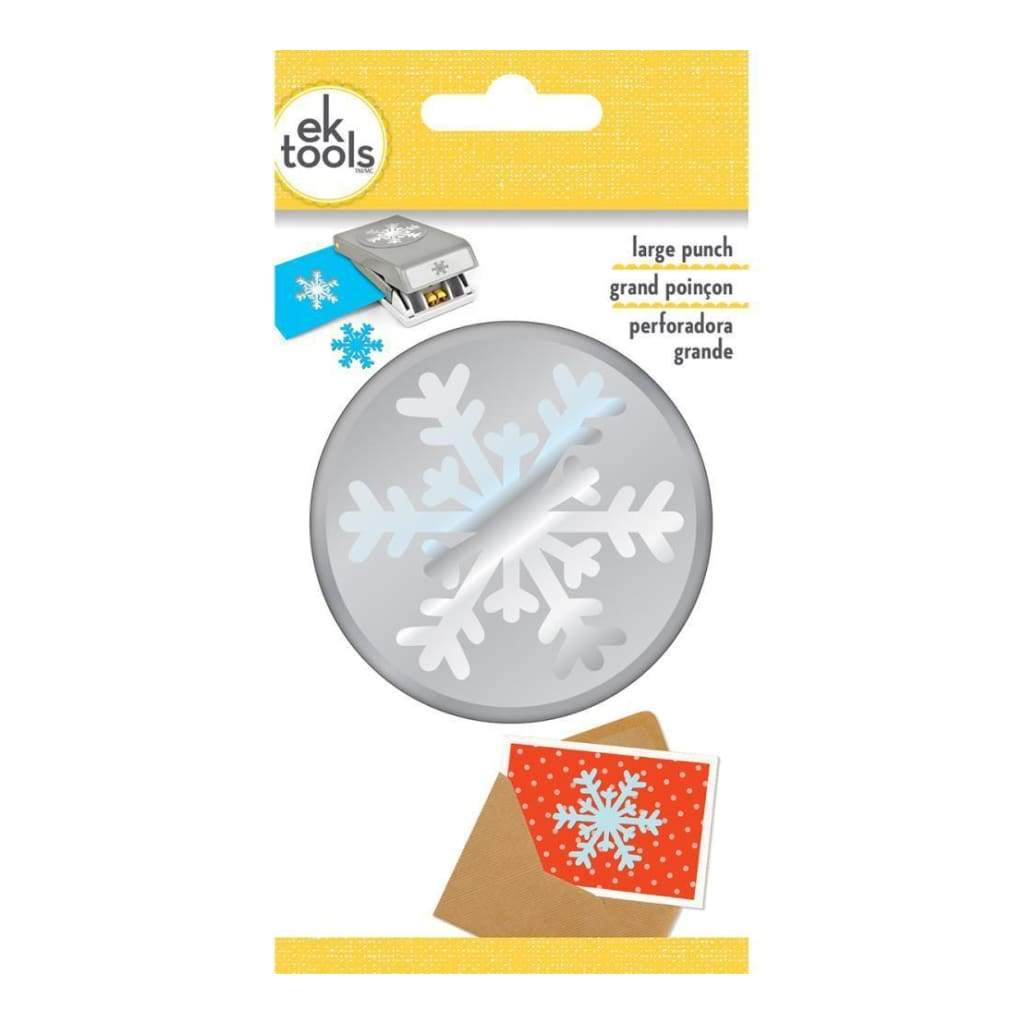 EK Tools Large Punch Arctic Snowflake