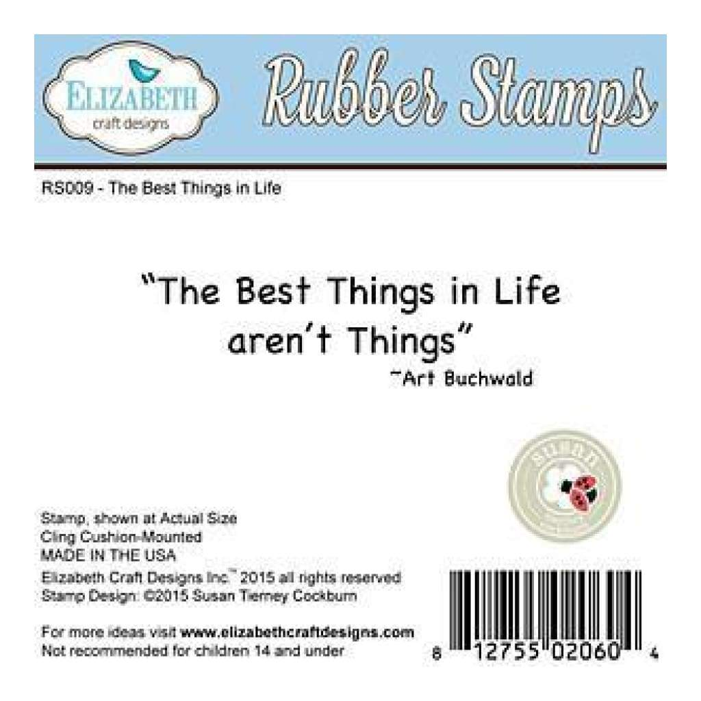 Elizabeth Crafts Cling Mounted Stamps 2.75In.X2.25In. - The Best