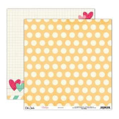 Elle's Studio - Penelope - Buttons 12X12 D/Sided Paper  (Pack Of 10)