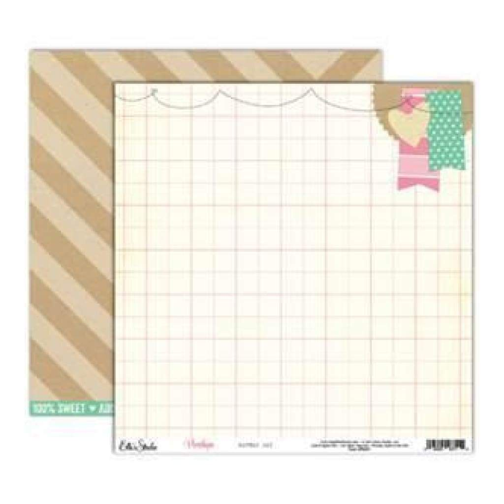 Elle's Studio - Penelope - Lovely Day 12X12 D/Sided Paper  (Pack Of 10)