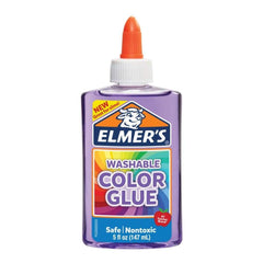 Elmer's Transparent Coloured Liquid Glue 5oz - Purple