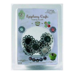 Epiphany Crafts - Shape Studio Settings - Round 14Mm - Metal Settings