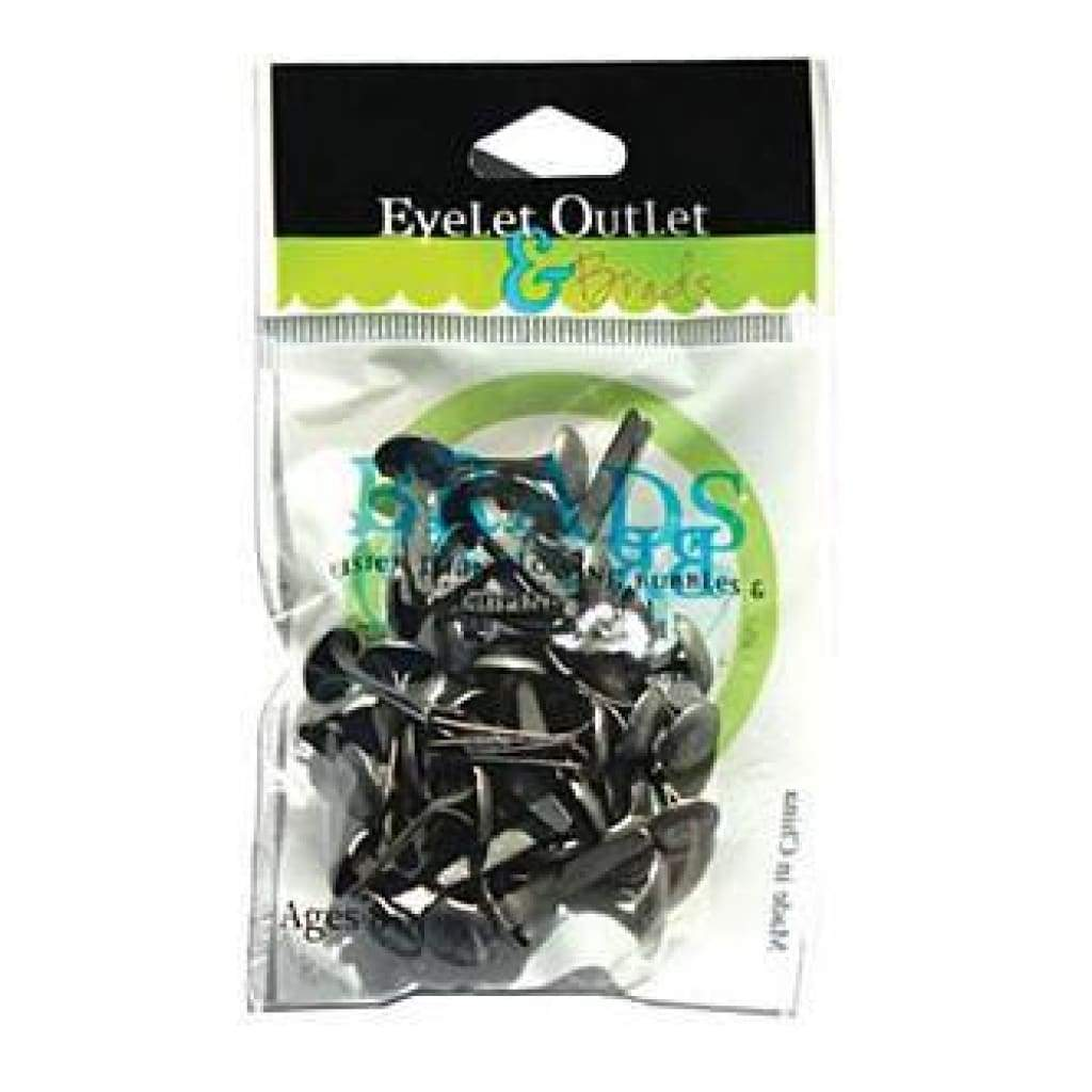 Eyelet Outlet  -Brush Silver - 8Mm Brads
