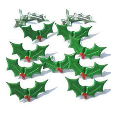 Eyelet Outlet Shape Brads 12 Pack Holly