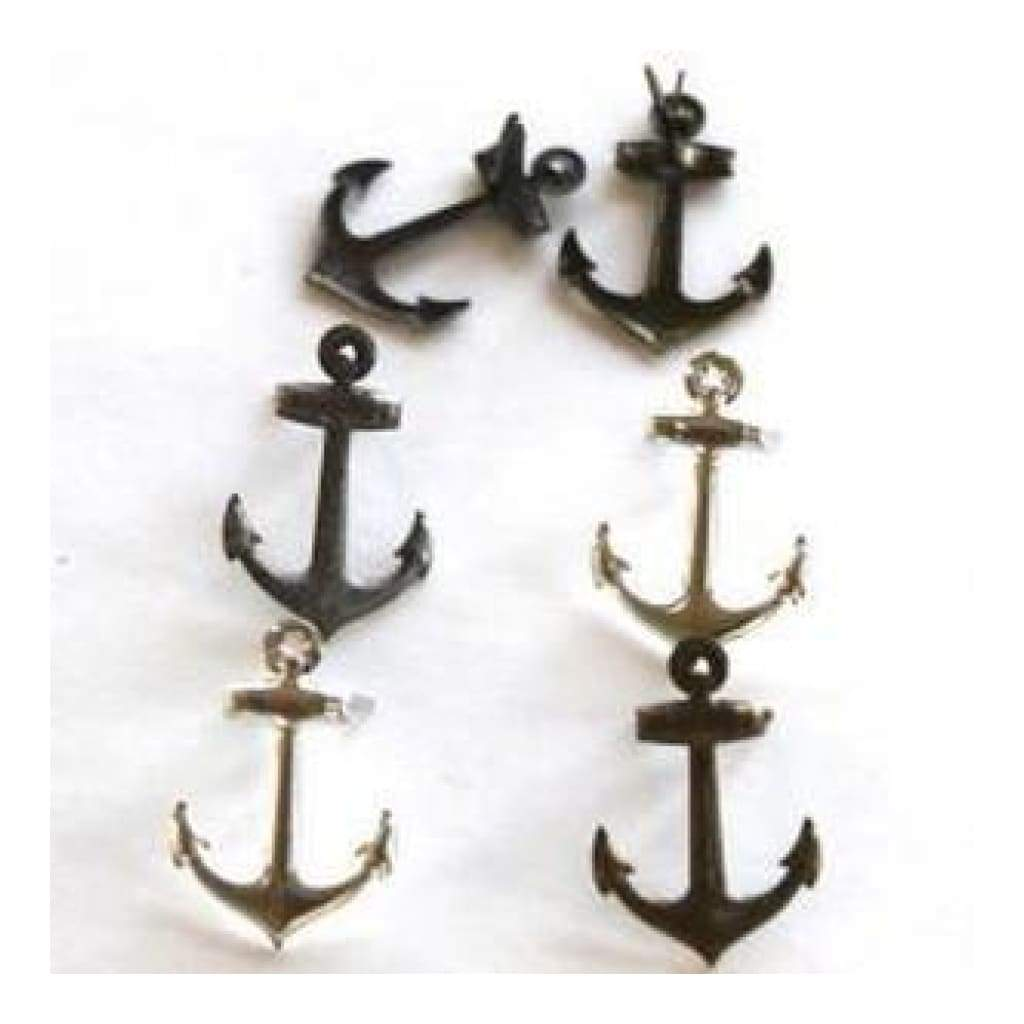 Eyelet Outlet Shape Brads 12 Pack Metallic Anchor