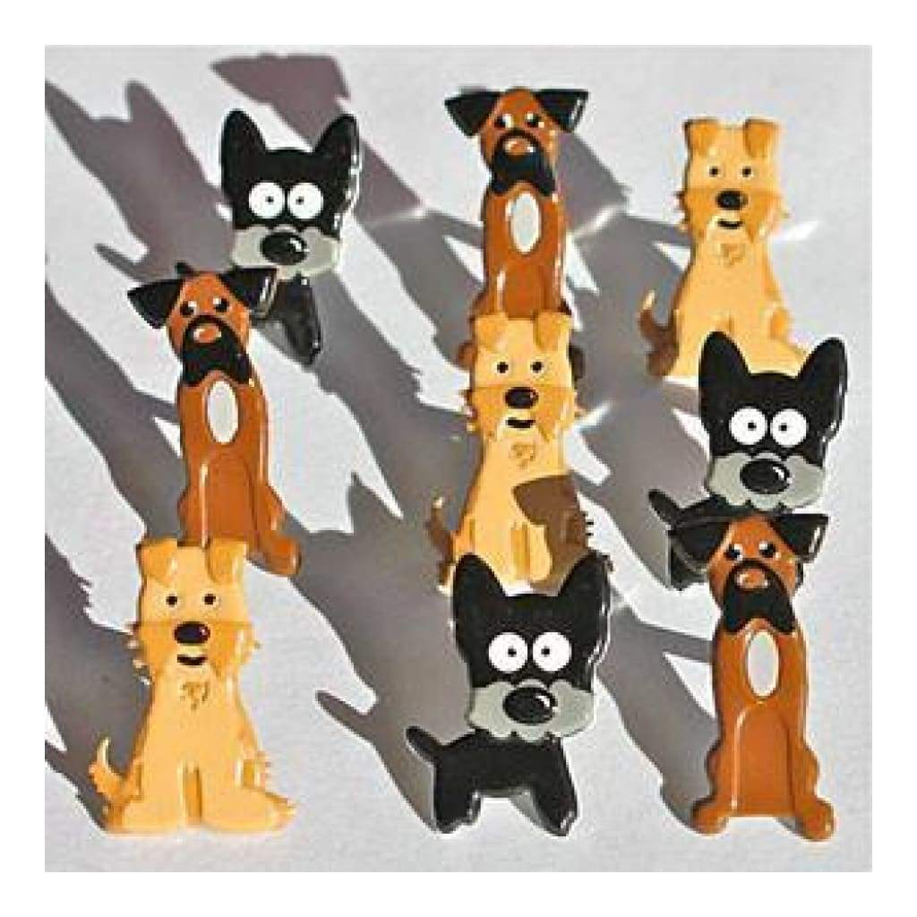 Eyelet Outlet Shape Brads 12 Pack  Puppies