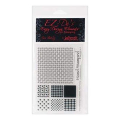 Ez-De's Clear Stamps 4X6 Sheet Nine Patch Set A