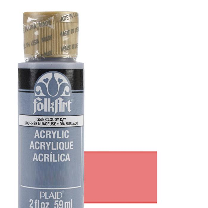 FolkArt Acrylic Paint 2oz - Crushed Coral