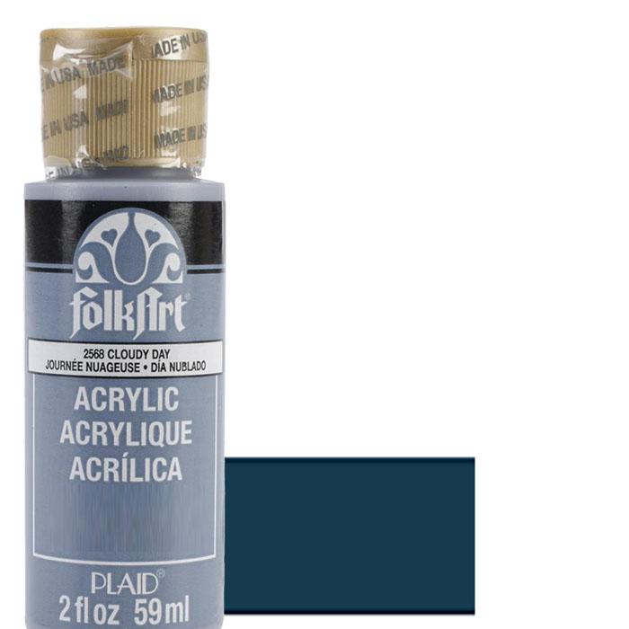 FolkArt Acrylic Paint 2oz - Navy Blue