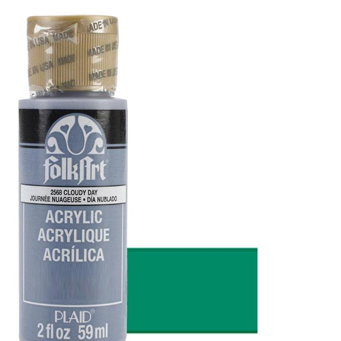 FolkArt Acrylic Paint 2oz - Kelly Green