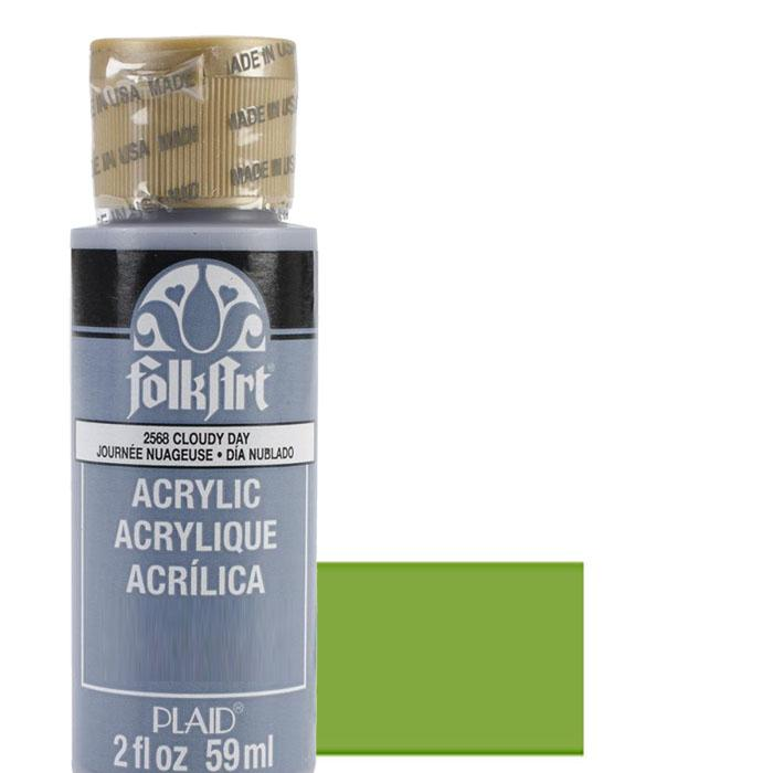 FolkArt Acrylic Paint 2oz - Fresh Foliage