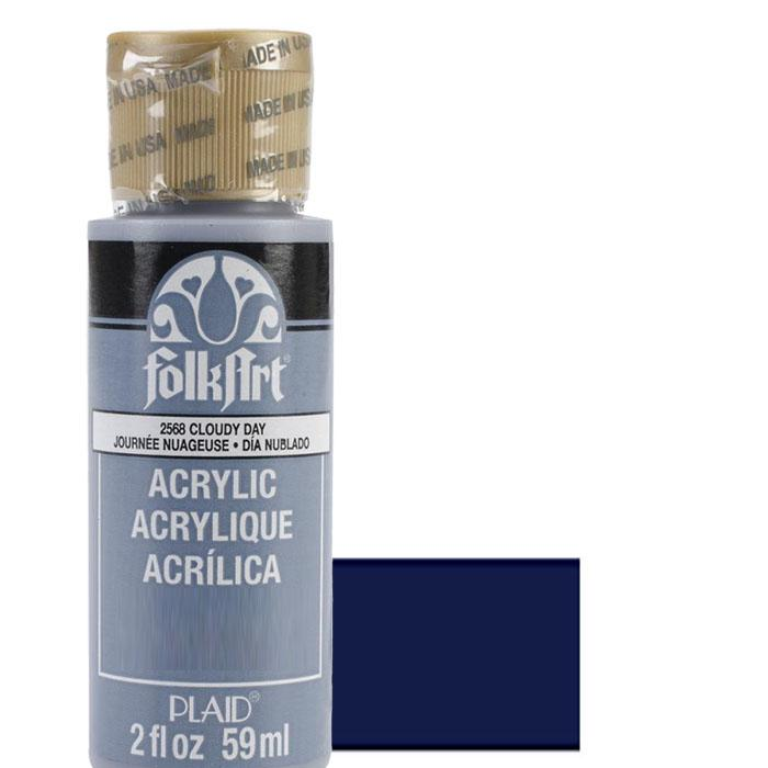 FolkArt Acrylic Paint 2oz - Midnight