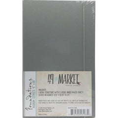 49 And Market Foundations Album - 6in x 10 Grey