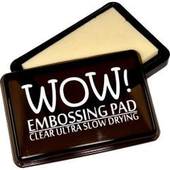 Wow! Slow Drying Ink Pad - Clear Ultra