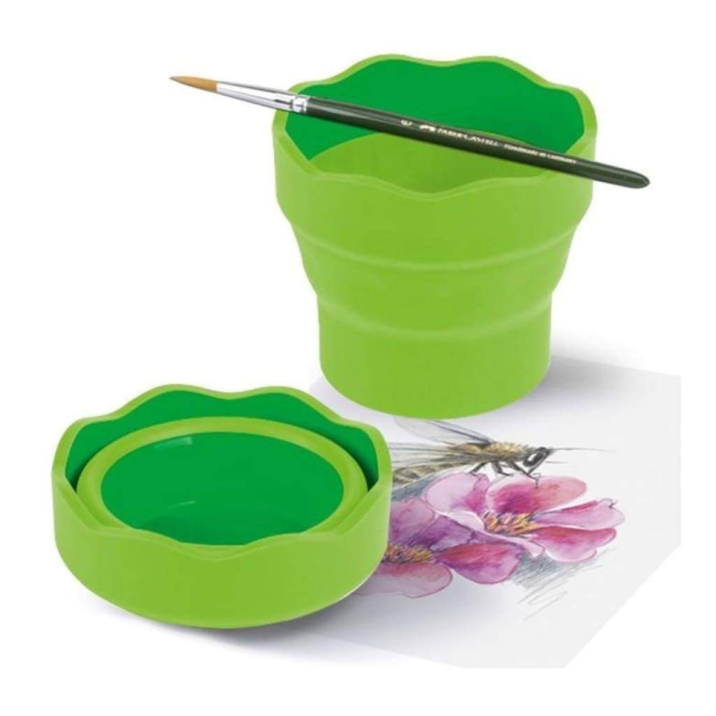 Faber Castell Collapsible Water Cup - Lime