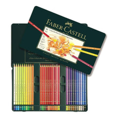 Faber Castell - Polychromos Colored Pencil Set In Metal Tin 60pc