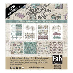 Fabscraps Journey In Time Card Kit