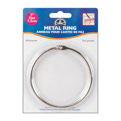 "DMC Metal Ring 3"" 1 pack"
