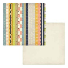 Fancy Pants - Collecting Memories - Inch By Inch 12X12 Double-Sided Paper
