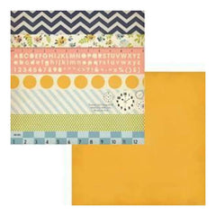 Fancy Pants - Collecting Memories - Strips 12X12 Double-Sided Paper