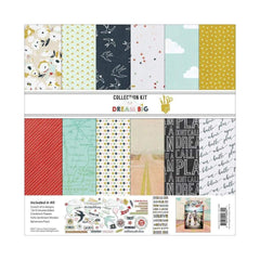 Fancy Pants Designs Collection Kit 12 inch X12 inch Dream Big