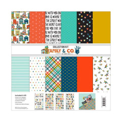 Fancy Pants - Fancy Pants Designs Collection Kit 12 inch X12 inch Family & Co.