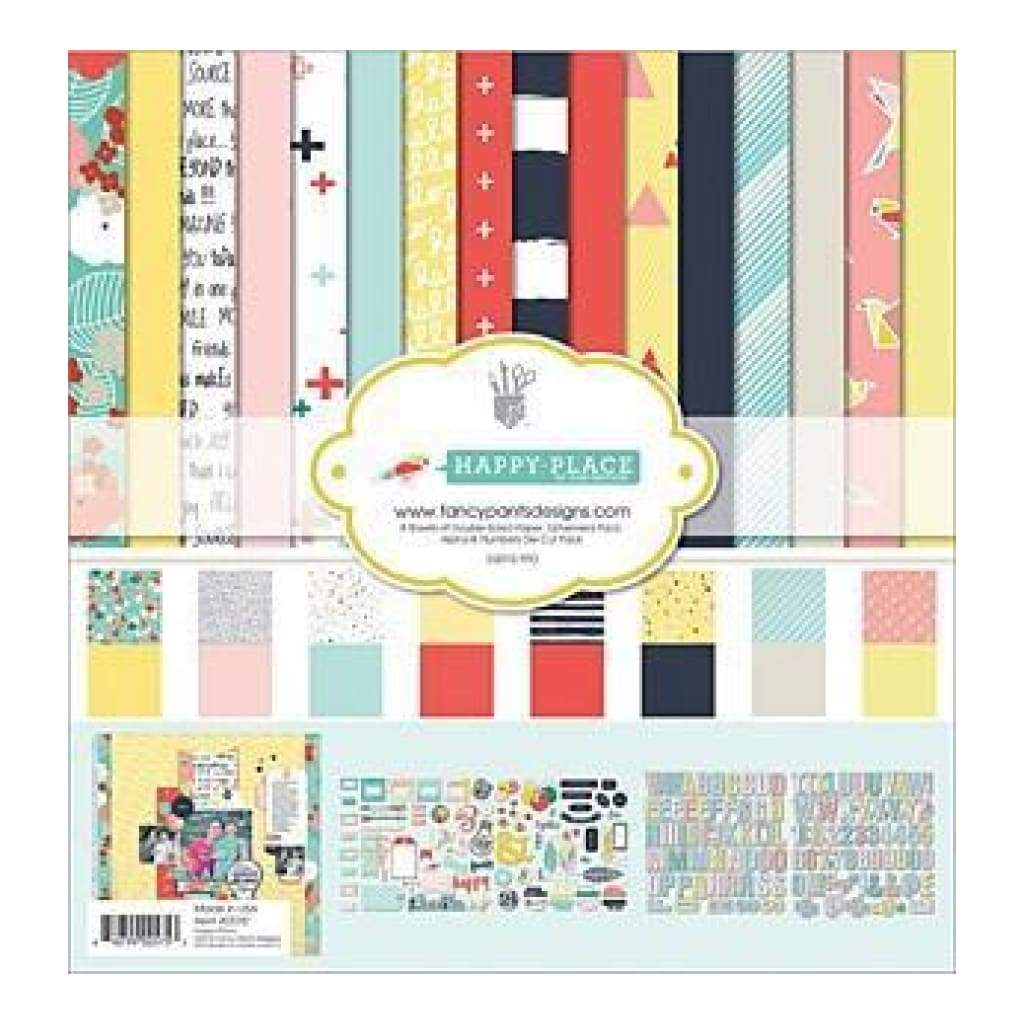Fancy Pants Designs Collection Kit 12 Inch X12 Inch  Happy Place