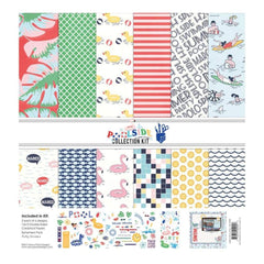 Fancy Pants Designs Collection Kit 12 inchX12 inch Poolside