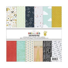 Fancy Pants Designs Single-Sided Paper Pad 6 inch X6 inch 24 pack Dream Big, 12 Designs/2 Each