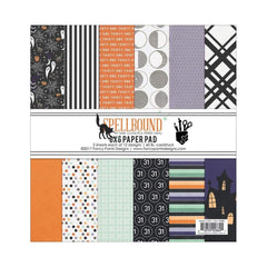 Fancy Pants Designs Single-Sided Paper Pad 6 inch X6 inch 36 pack Spellbound, 18 Designs/2 Each