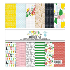 Fancy Pants Designs Single-Sided Paper Pad 6X6 24 pack The Bright Side, 12 Designs/2 Each