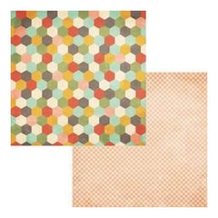 Fancy Pants - Happy Go Lucky - Joyful 12X12 Double-Sided Paper