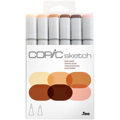 Copic Sketch Set 6 Skin Tone