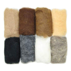 Feltworks Roving Value Pack 2.8oz Earth Tone