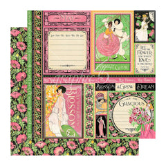 Graphic 45 - Fashion Forward Double-Sided Cardstock 12in x 12in - May