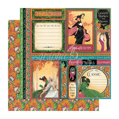 Graphic 45 - Fashion Forward Double-Sided Cardstock 12in x 12in - November