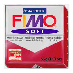 Fimo Soft Polymer Clay 2 Ounces - Indian Red